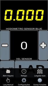 Aplicativo Sensor Blue (Imagem1)