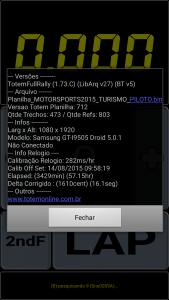 Informações sobre o versão do app (Imagem 3)