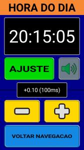 Ajuste fino do relógio (Imagem 8)