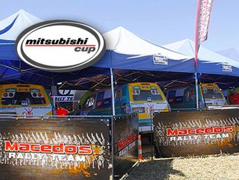 Mitsubishi Cup: Fred e Nick Macedo fecham em quarto na Pajero TR4 ER Master, em Indaiatuba