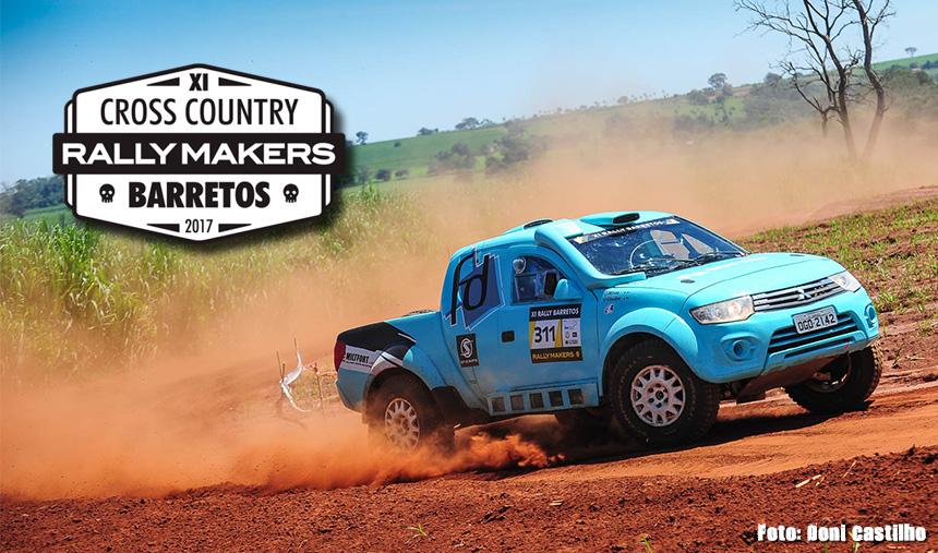 Glauber Fontoura e Minae Miyauti são vice-campeões na Pró Brasil da 11ª edição do Rally de Barretos