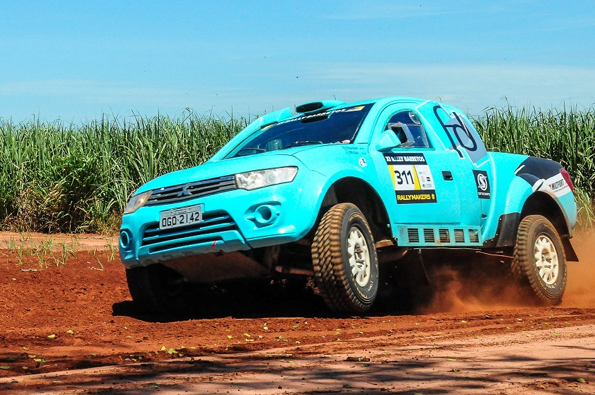 Glauber Fontoura/Minae Miyauti estão com foco total para o Rally RN1500, que começa nesta sexta (7)