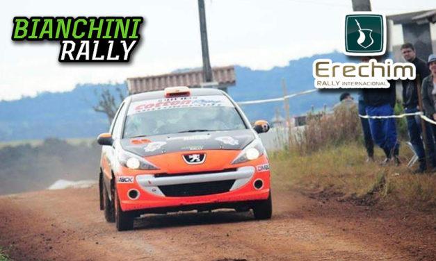 Pódio para Fabrício Bianchini/Damon Alencar na estreia no Rally Erechim