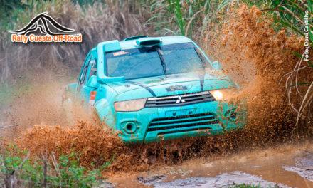 Glauber Fontoura/Minae Miyauti é a dupla Campeã do Rally Cuesta Off-Road, em Botucatu