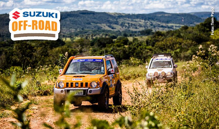 Pirenópolis (GO) surpreende os participantes do Suzuki Off-Road com belezas naturais e muito 4×4