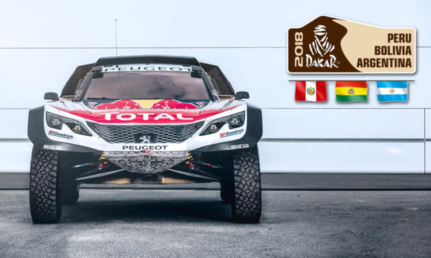 Dakar 2018: Peugeot apresentou o novo 3008 DKR MAXI