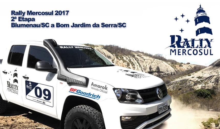 Segundo dia do Rally Mercosul surpreende os participantes