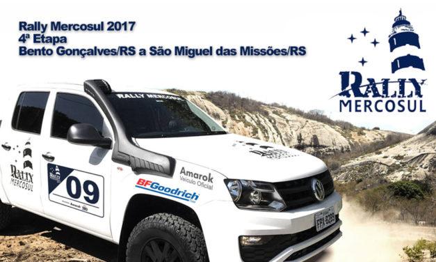 Caravana do Rally Mercosul chega no 4º dia e segue em direção ao Uruguai