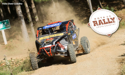 Deninho Casarini e Luis Felipe Eckel vencem Rally Rota SC entre os UTVs