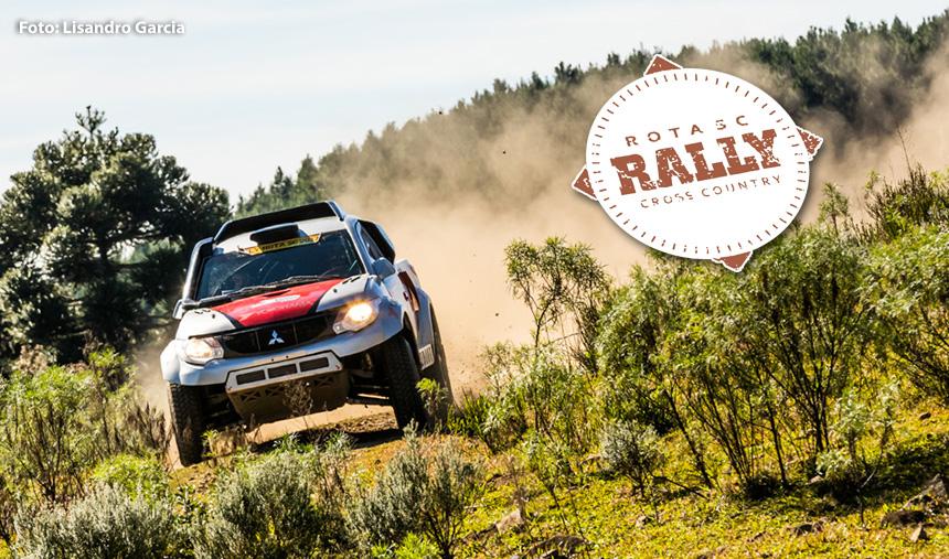 Em clima de decisão, a prova Rally Rota SC foi acirrada neste domingo
