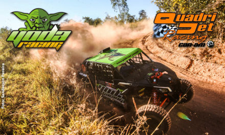 Quadrijet Racing/Yoda une esporte e solidariedade no Mineiro de Rally
