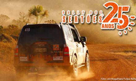 Araponga Rally cruza a linha de chegada do Rally dos Sertões