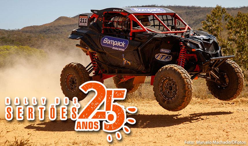 Rally dos Sertões – Can-Am Maverick X3 abre disputa nas seis primeiras posições