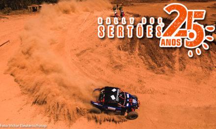 Edu Piano e Solon Mendes finalizam a 25ª edição do Rally dos Sertões em 4º nos UTVs