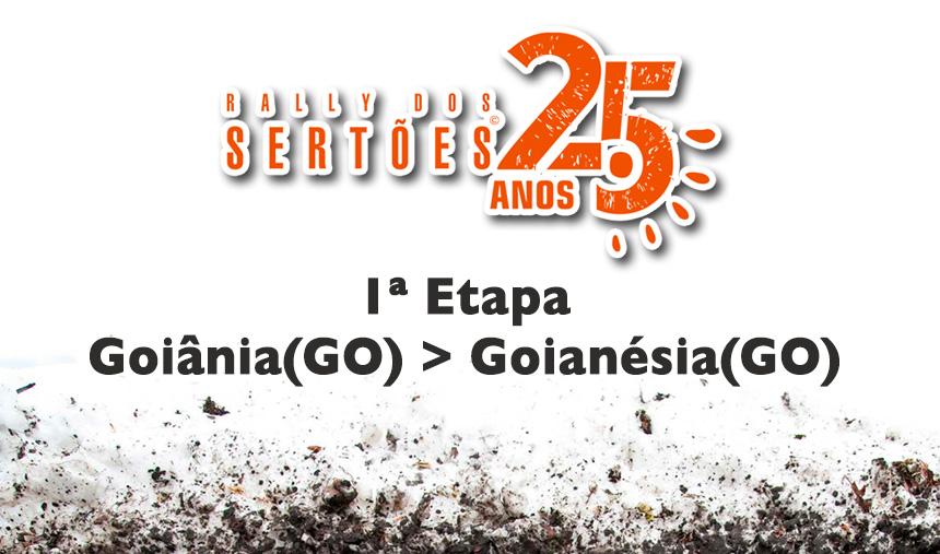 25º Rally dos Sertões – 1º dia