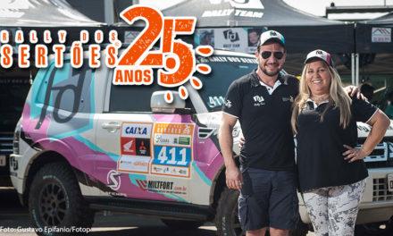 SFI CHIPS vence Rally dos Sertões por antecipação com Sandra e Maurício