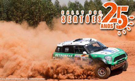 Petrobras Rally Team domina edição de 25 anos do Rally dos Sertões nos carros e sobe ao pódio