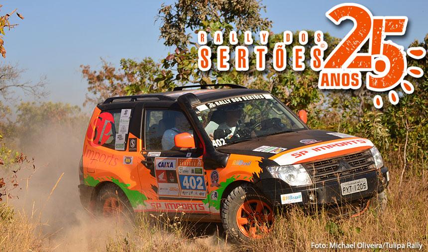 Rally dos Sertões: Renato Martins e Enedir Júnior vencem a segunda etapa pela categoria Máster