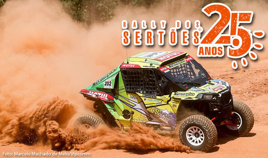Torres Racing fecha ano vitorioso com título no UTV Pro Aspirado do Rally dos Sertões 25 Anos