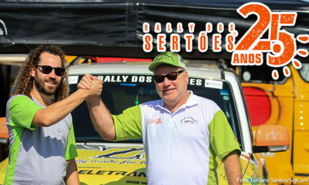 Rally dos Sertões 2017: Levantando poeira, Otávio e Allan Enz, chegam ao Mato Grosso