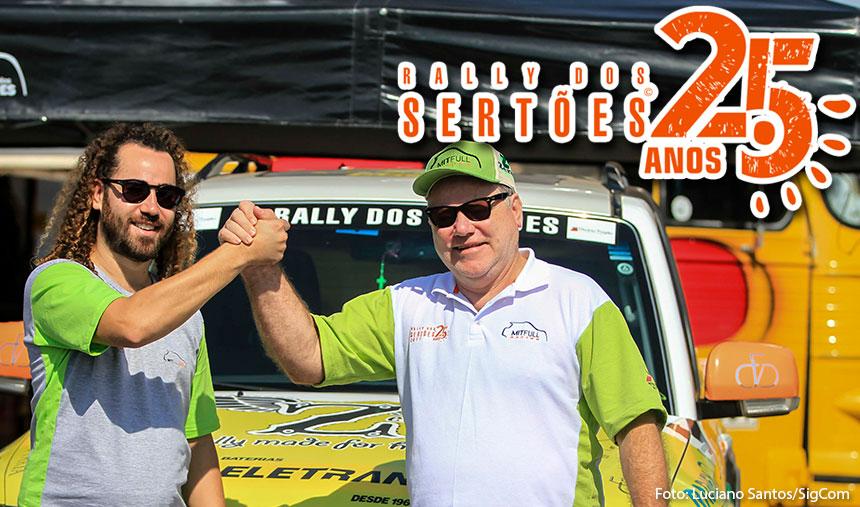 Rally dos Sertões/Regularidade: Otávio e Allan Enz vencem a quinta etapa
