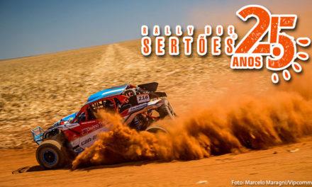 Rally dos Sertões – Bruno Varela e João Arena comemoram título dos UTVs