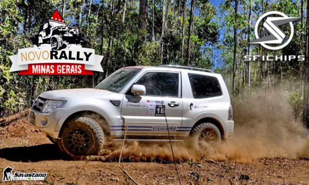 Campeões do Novo Rally MG em Santos Dumont levam SFI CHIPS ao alto do pódio