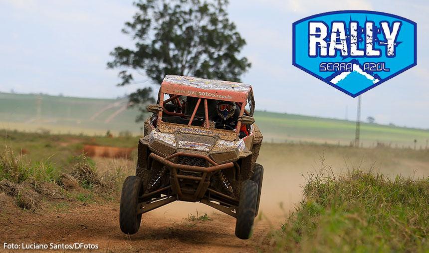 Rally Serra Azul: Inscrições estão abertas e será válido pelo Brasileiro de Rally Baja