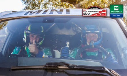 Petrobras Rally Team faz o primeiro teste com o Mini All4 Racing, em Portugal, para a disputa da última etapa do Mundial de Rally Cross-Country