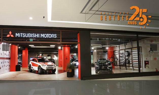 MIT Point recebe exposição de carros campeões no Rally dos Sertões 2017