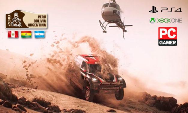 Já pensou em correr o Dakar sem sair do sofá?