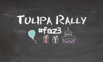Tulipa Rally faz 3 anos