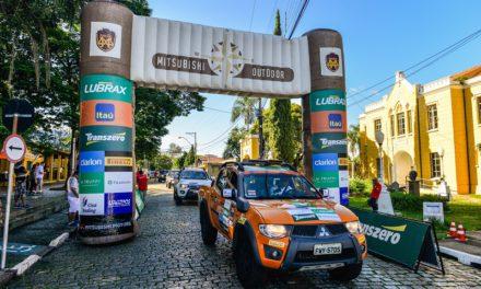 É neste sábado: ralis Mitsubishi desembarcam em Goiânia (GO)