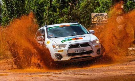 Ralis da Mitsubishi Motors fazem prova emocionante em Goiânia (GO) junto com o Rally dos Sertões