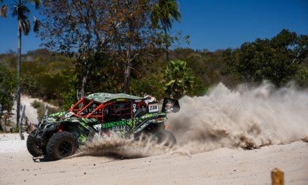 Nas motos e nos UTVs competidores da Bianchini Rally provam que o Rally dos Sertões é para os fortes