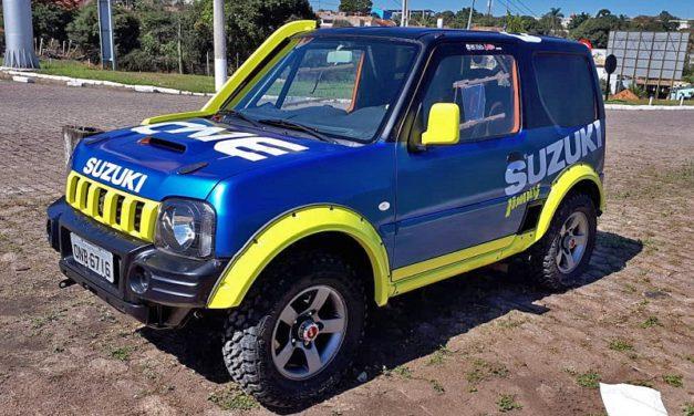 Edson Di Nole estreia no Rally dos Sertões a bordo de um Suzuki Jimny