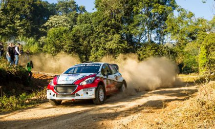 Líderes no Brasileiro de Rally de Velocidade, Facco/Herrero aceleram, no sábado, em Rio Negrinho
