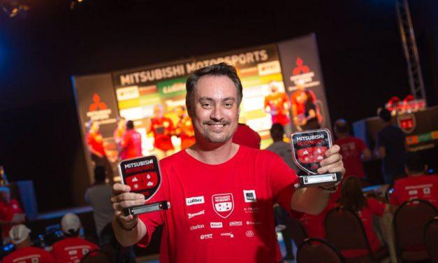 Equipe Trancos e Barrancos conquista pódio duplo no Mitsubishi Motorsports em Joinville (SC)