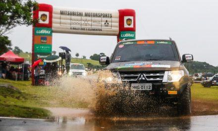 Chuva deu o tempero especial na final dos ralis Mitsubishi em Mogi Guaçu (SP)
