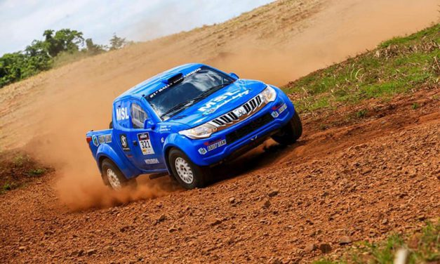 Glauber e Minae voltam a competir juntos com segundo lugar no Rally dos Amigos
